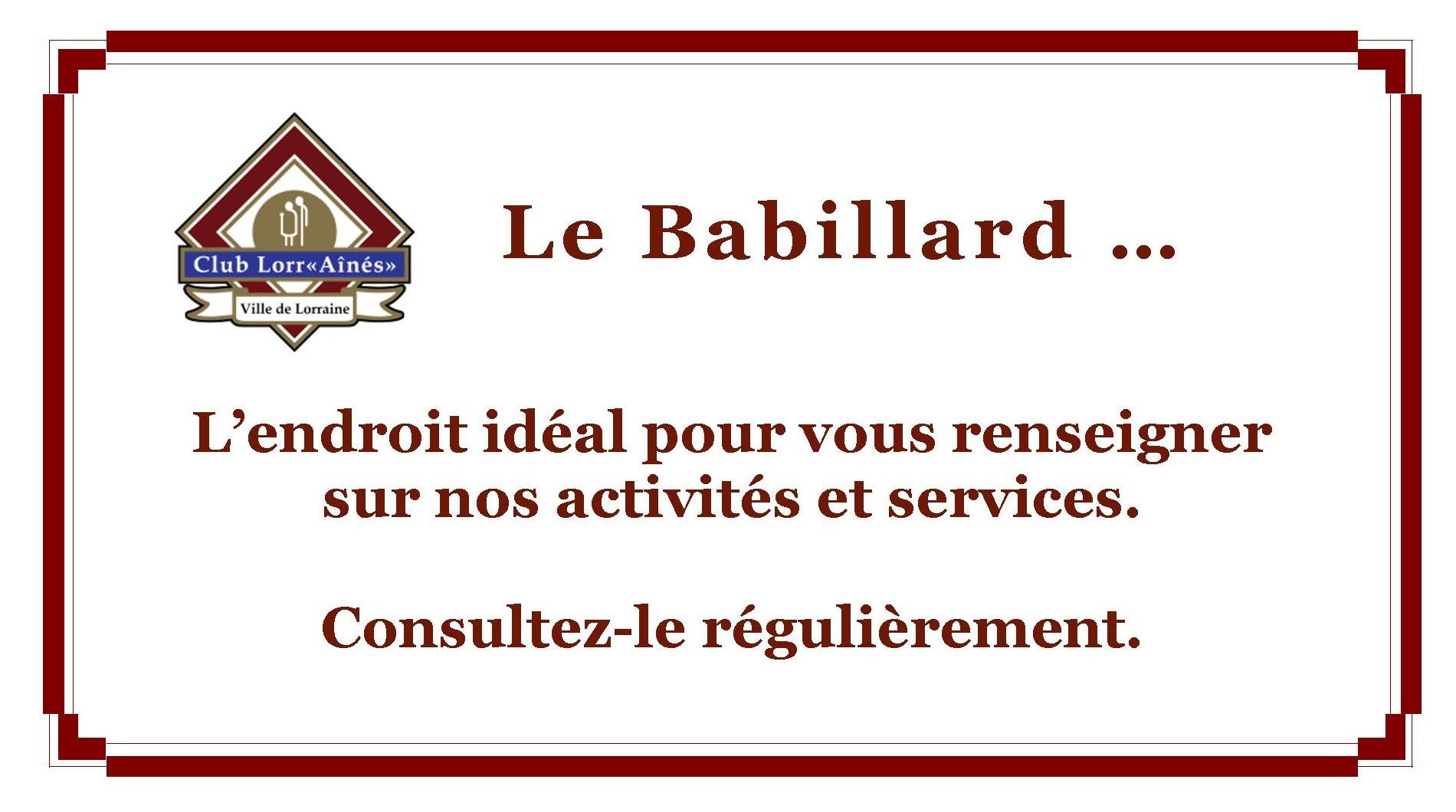 Babillard 3